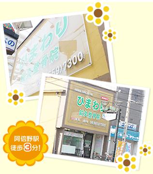 阿倍野駅徒歩3分!